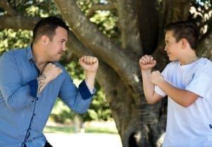 אימון הגנה עצמית לילדים