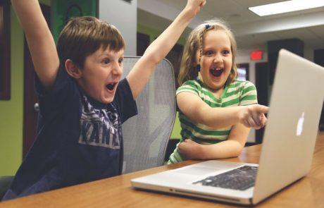 איפה ילדים לומדים לבנות אפליקציות לילדים אחרים