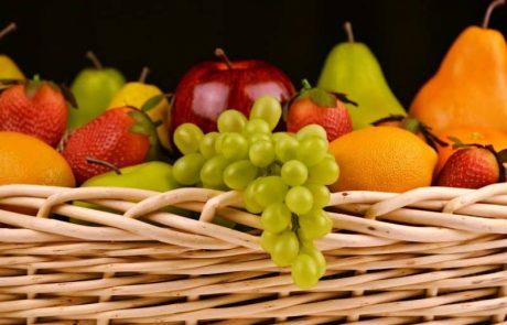 4 רעיונות לסלסלות פירות יצירתיות במיוחד