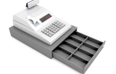 קופה רושמת על סליקת אשראי