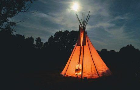 השכרת אוהל טיפי לילדים