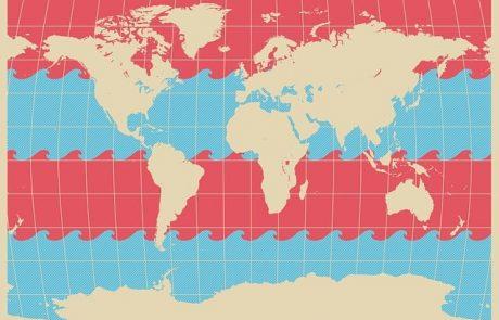 מפת עולם – להשקיף על העולם מהצד