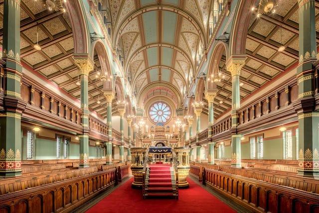 בתי כנסת בעולם – 5 בתי הכנסת היפים ביותר בעולם